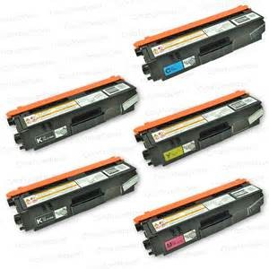 tn 315 high yield 5 pack compatible toners with 2 black, 1 each color