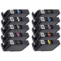 compatible pgi72 10-pack ink cartridges for canon pixma pro 10