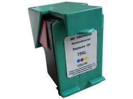 HP #75XL Color High Yield Ink Cartridge (CB338WN) $9.95