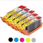 Canon CLi-251XL 5-Pack High Yield Inks (Black,Cyan,Magenta,Yellow,Grey) $8.61ea