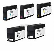 FREE SHIPPING! HP OfficeJet 8100, 8600 5-Pack Combo 950XL/951XL (2K, 1CYM) $14ea