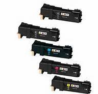 Xerox Phaser 6500, WC 6505 5-Pack Toner Combo (2Blk, 1 CYM) $17.50ea