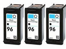 HP #96 Black 3-Pack Ink Cartridges (C8767W) $6.50 each