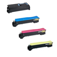 FREE SHIPPING Kyocera FS-C5100 series 4-Pack TK-542 (CYMK) $44.00 each