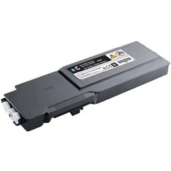 Dell C3760, C3765 High Yield Cyan Toner (331-8432) $67.25
