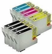 Epson T127120, T127220, T127320, T127420 10-Pack Combo (4 Blk, 2 CYM) $6.92ea