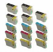 Epson T127120,T127220,T127320,T127420 14-Pack Combo (5Blk, 3 CYM) $6.50ea