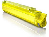 Okidata C9600,C9800 Yellow Toner Cartridge (42918901) $79.00