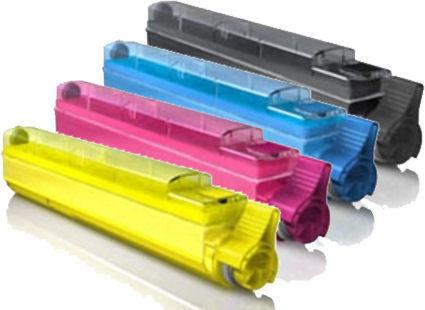 FREE SHIPPING! Okidata C9600, C9800, 4-Pack Combo Toners (CYMK) $69ea