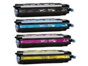 FREE SHIPPING HP LaserJet 3800, CP3505 HY 4-PACK 501A Toners (CMYK)  $51ea