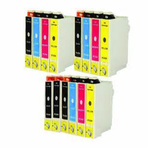 FREE SHIPPING! Epson T126120-T126420 14-Pack Ink Combo (5K/3CYM) $6.02ea