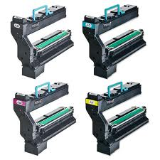 FREE SHIPPING! Konica Minolta 5430, 5440 series 4-Pack Toners (CYMK) $87 each