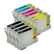 Epson Stylus T073120-T073420 10-Pack (4BK, 2C, 2M, 2Y) $3.84 each