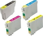 Epson Stylus T073120, 73220, 73320, 73420  4-Pack Combo Ink (KCMY) $17.95