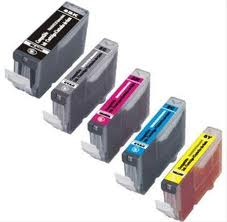 Canon CLi-8/PGi-5 5-Pack Ink (1Bk,1PGi,1C,1Y,1M)  $4.25ea