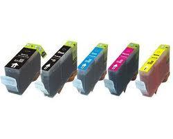 Canon CLi-226, PGi-225/226 5-Pack Ink Combo (1ea CYM 1-PGi225/PGi226) $2.30ea