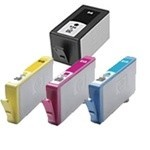 HP 920XL 4-Pack Combo for OfficeJet 6000, 6500, 7000  Black $9, Colors $8ea
