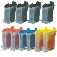 Brother LC31 10-Pack Ink (4-K, 2-C, 2-M, 2-Y) $2.70ea