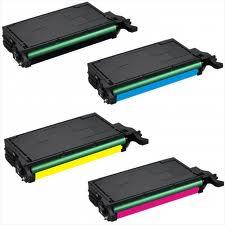Samsung CLP620, CLP670, CLX6220FX, CLX6250FX 4-Pack Toner (CYMK) $72 each