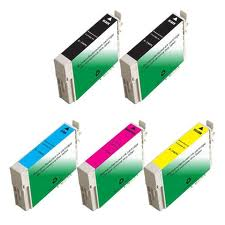 Epson T068120-68420 5-Pack (2Bk,1ea CYM) $6.25ea