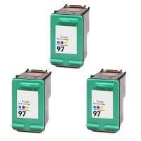 HP #97 Color 3-Pack Ink Cartridges (C9363W) $6.50 each