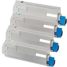 Okidata C710 series 4-Pack Toner Combo (CYMK)  $59.95 each