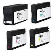FREE SHIPPING! HP OfficeJet 8100, 8600 4-Pack Combo 950XL, 951XL $14ea