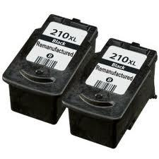 Canon PG-210XL 2-Pack High Yield Black Ink $15.95 each
