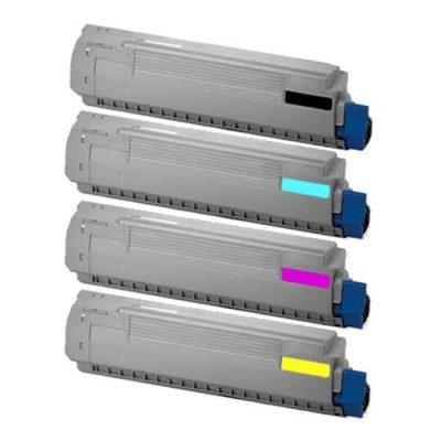 FREE SHIPPING! Okidata C810, C830 4-Pack Toner Combo (CYMK) $66 each