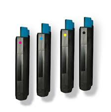 Okidata C5100,5200,5300,5400,5510 High Yield 4-Pack (CYMK) $26ea
