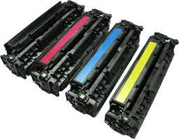 HP LaserJet CP-2025, CM-2320 4-Pack Combo (CYMK) $31.20