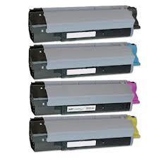 Okidata CX2032 4-Pack Combo Type C8 Toners (CYMK) $36.45 each